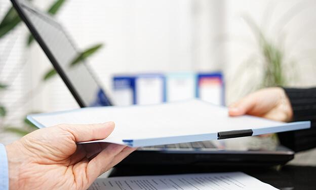 patient receiving forms